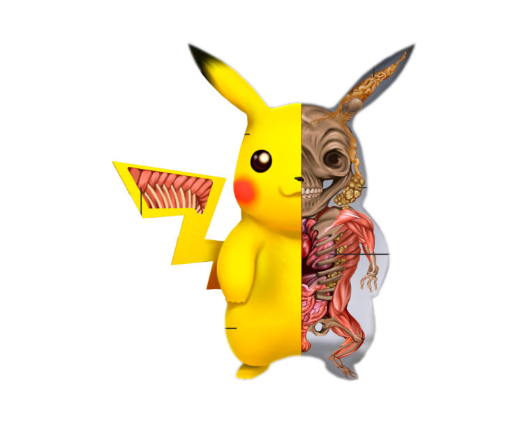 Anatomía Pikachu