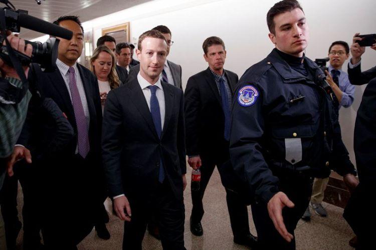 Mark Zuckerberg Guardaespaldas
