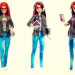 Barbie programadora de videojuegos