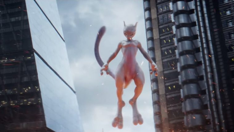 Detective Pikachu Mewtwo